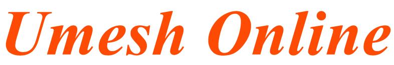 Umesh Logo